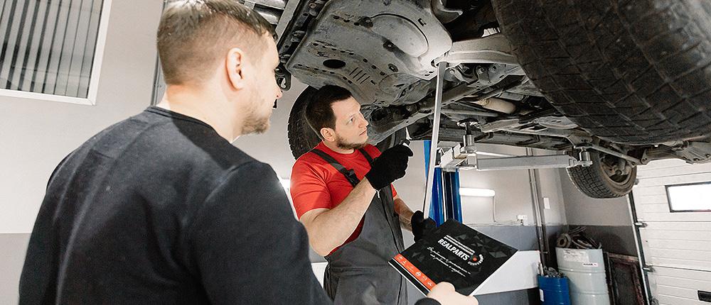 Ремонт подвески и ходовой Mazda